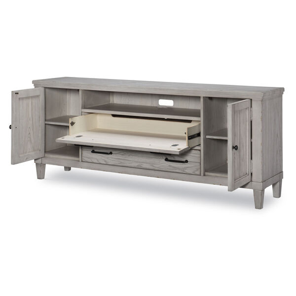 Belhaven Weathered Plank Entertainment Console, image 5