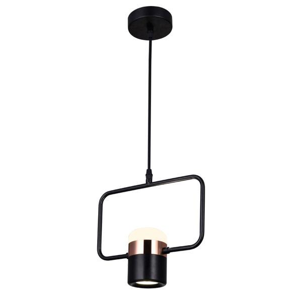 Moxie Black LED Pendant, image 2