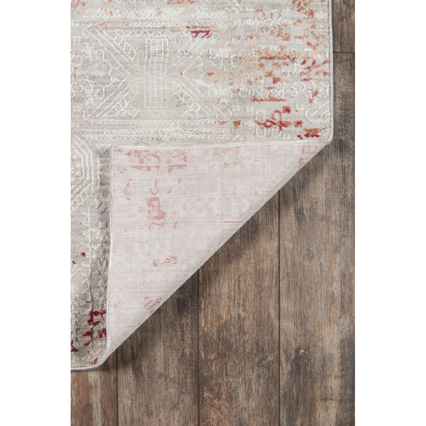 Genevieve Red Rectangular: 3 Ft. 10 In. x 5 Ft. 7 In. Rug, image 6