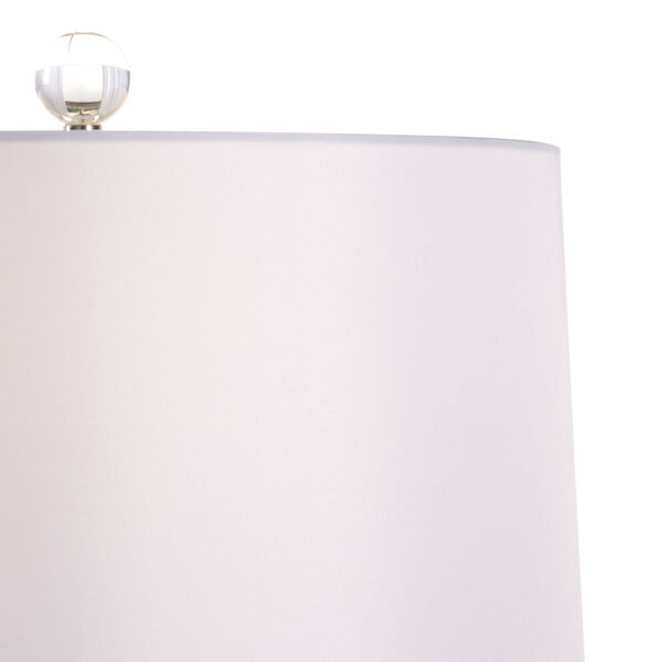 Classic Black and White One-Light Table Lamp, image 3
