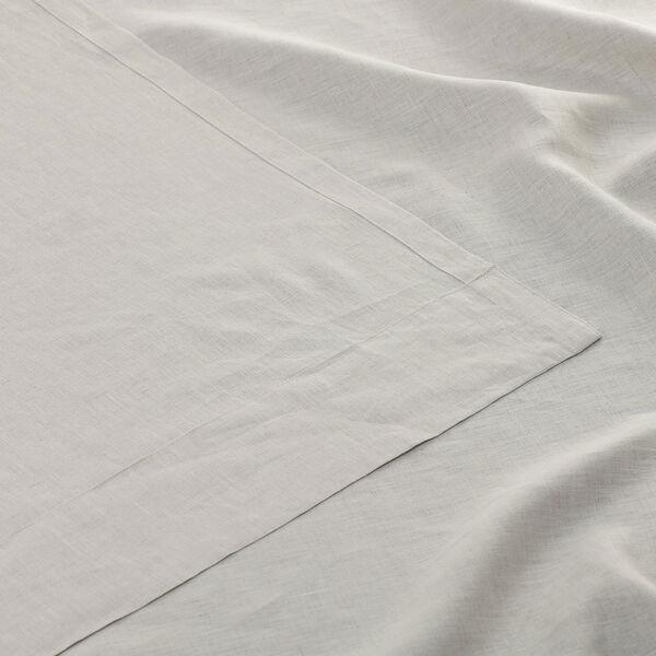 Signature Birch French Linen Sheer Single Panel Curtain Panel, 50 X 96, image 6