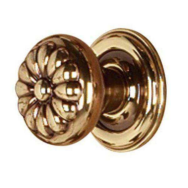 Bella Polished Antique Knob, image 1