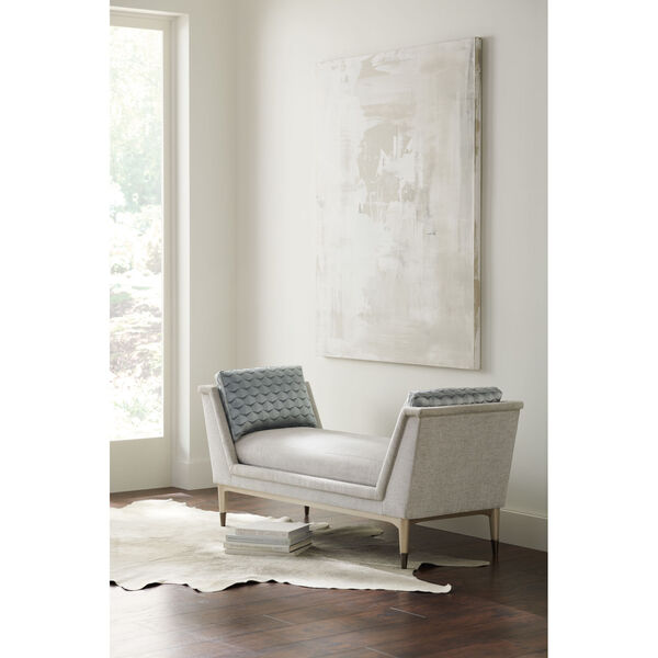 Classic Gray End to End Chaise Lounge, image 3