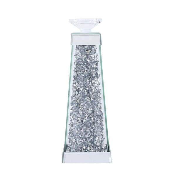 Sparkle Clear 5-Inch Crystal Candle Holder, image 1