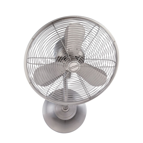 Bellows Stainless Steel 16-Inch Wall Mount Fan with Three Blades, image 2