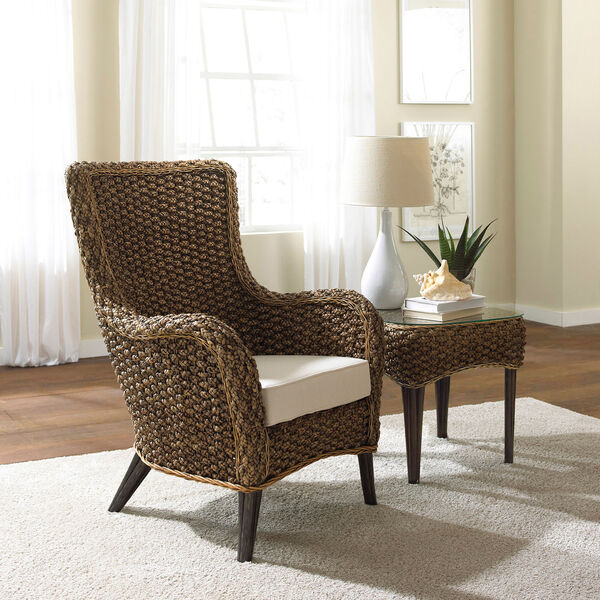 Sanibel Canvas Two-Piece Lounge Chair Set with Cushion, image 3