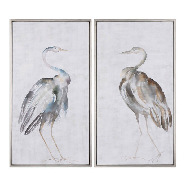 Summer Birds Framed Art, Set of Two, image 2