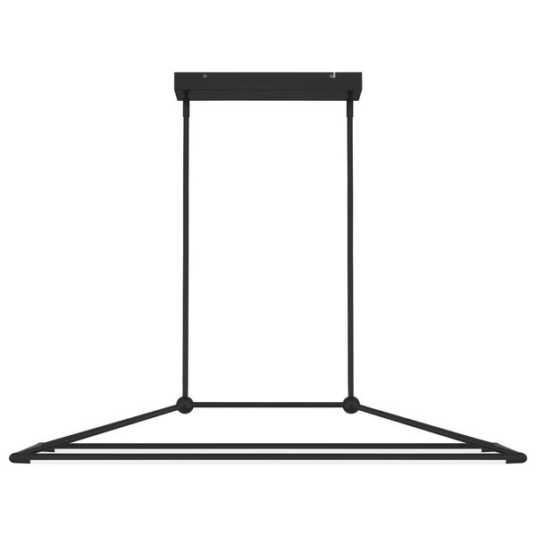 Ingram Matte Black LED Chandelier, image 4