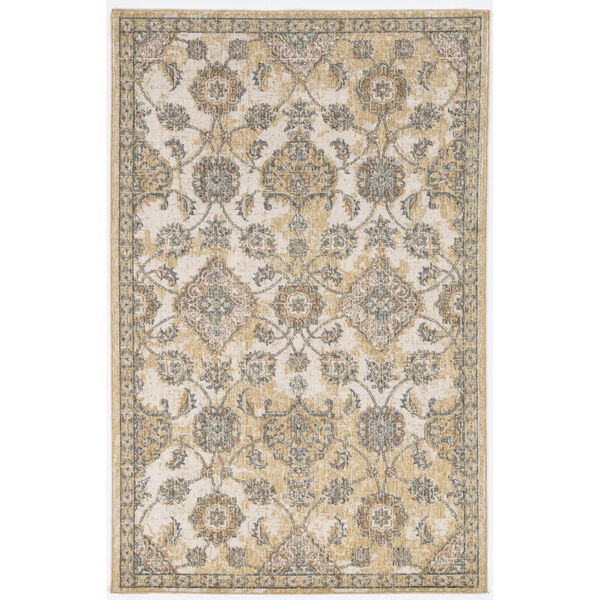Ria Sofia Ivory Sand Rectangular: 3 Ft. 3 In. x 5 Ft. 3 In. Area Rug, image 1