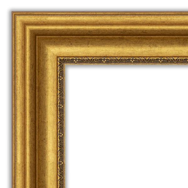 Parlor Gold 34W X 28H-Inch Bathroom Vanity Wall Mirror, image 2