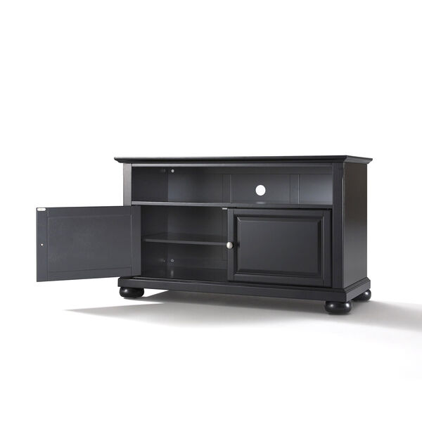 Alexandria 42-Inch TV Stand in Black Finish, image 2