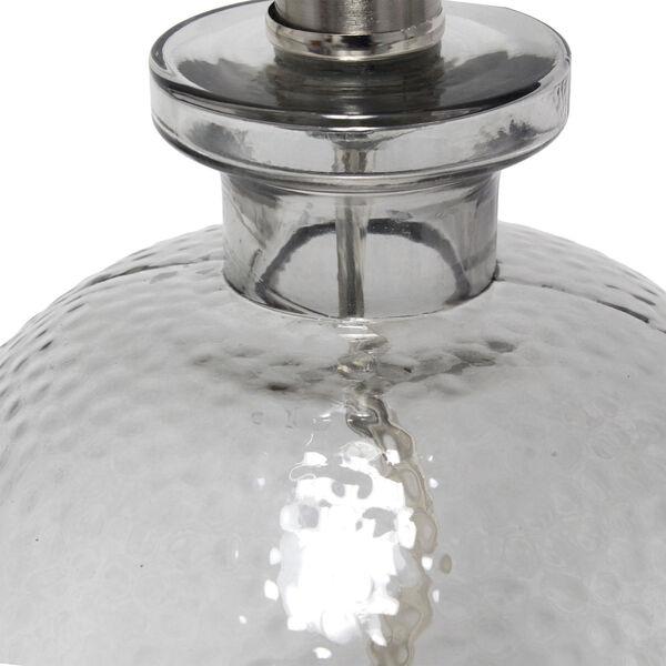 Cerise Smokey Gray White One-Light Table Lamp, image 5