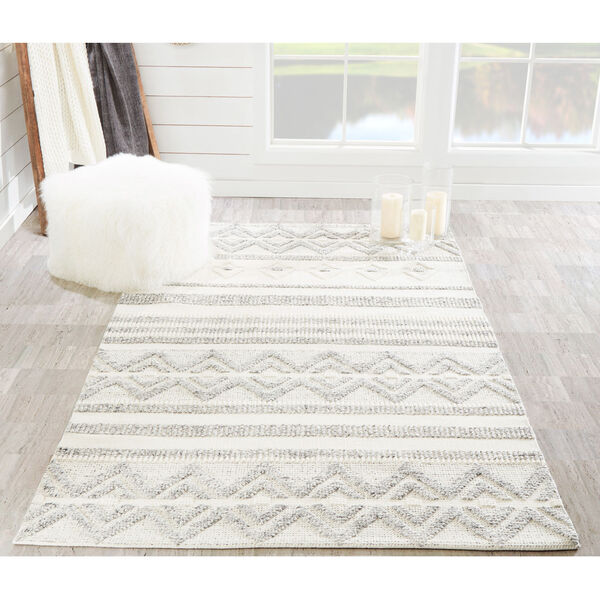 Hermosa Ivory Rectangular: 7 Ft. 9 In. x 9 Ft. 9 In. Rug, image 2
