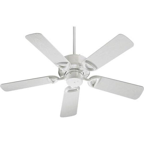 Estate White 42-Inch Patio Fan, image 1