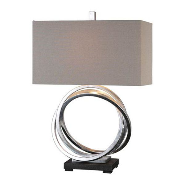 Nichols Silver Rings Table Lamp, image 1