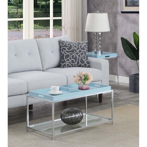 Palm Beach Sea Foam Accent Coffee Table, image 1
