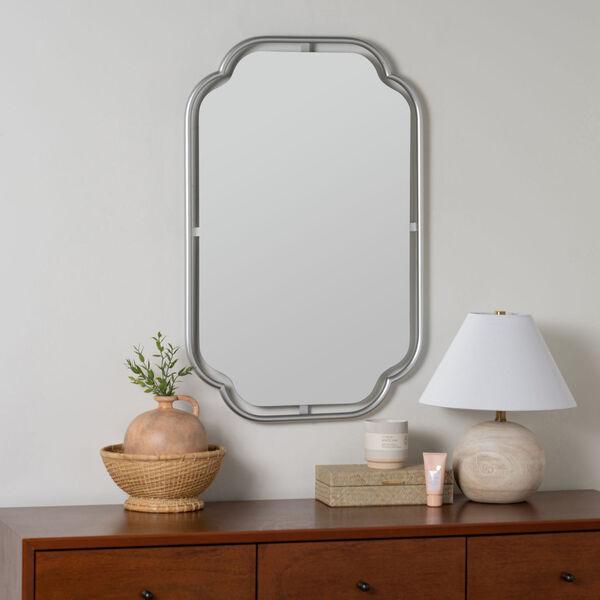 Sebastian Silver 34-Inch x 22-Inch Wall Mirror, image 1