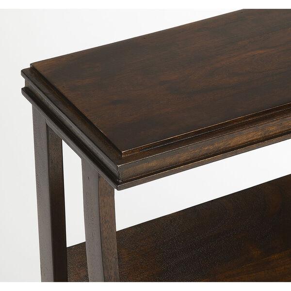 Butler Loft Pascal Dark Brown Wood Book Table, image 2