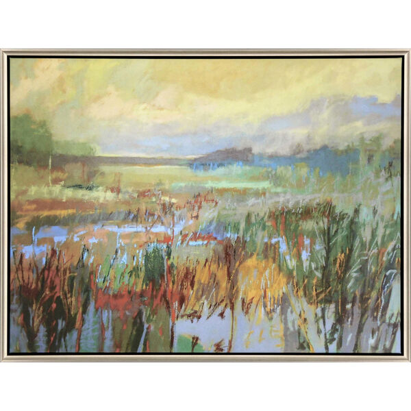 Marsh in May Green Canvas, image 2