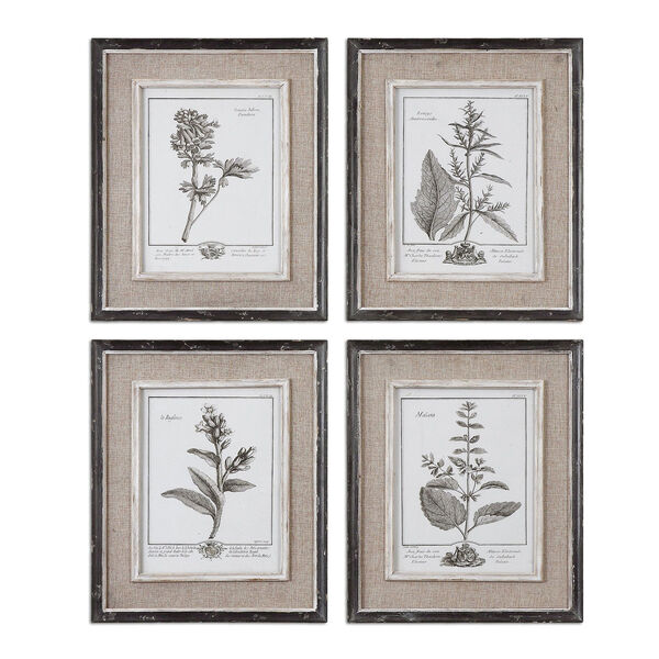 Casual Grey Study: 14.5 x 17.5 Wall Art, Set of Four, image 2