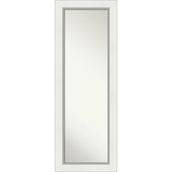 Eva White and Silver Full Length Mirror, image 1