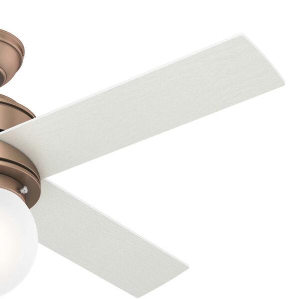 Hepburn Satin Copper 44-Inch LED Ceiling Fan, image 4