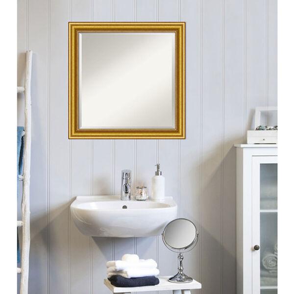 Gold 24-Inch Bathroom Wall Mirror, image 4