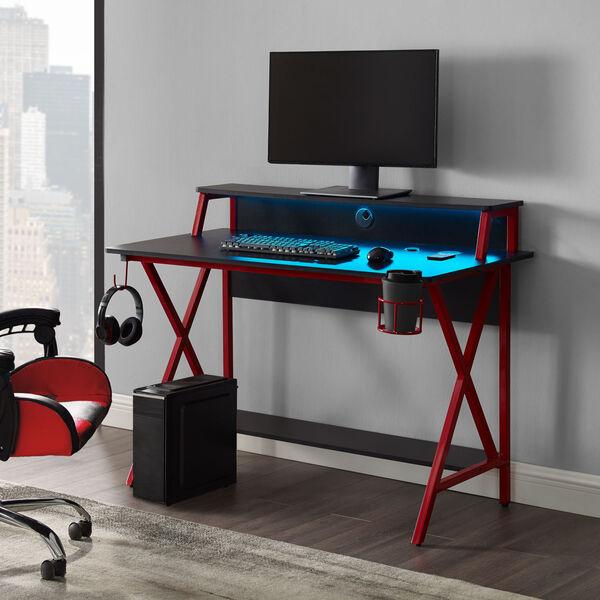 Ian Black Red Desk, image 2