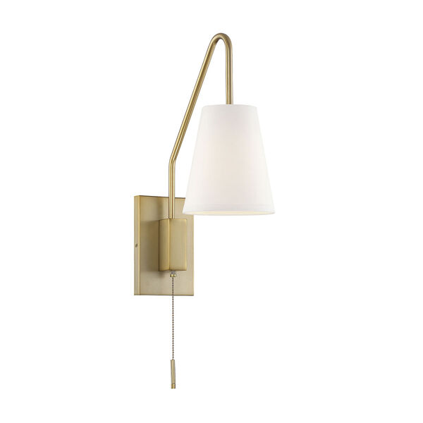 Owen Warm Brass One-Light Sconce, image 1
