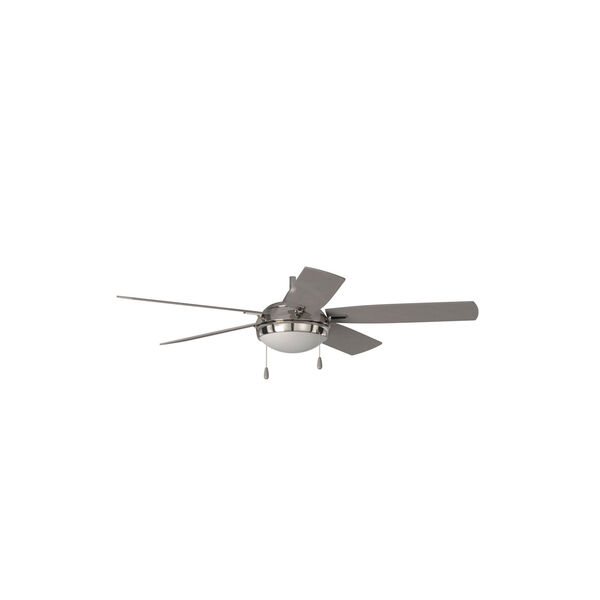 Lun-Aire Brushed Nickel LED Ceiling Fan, image 6
