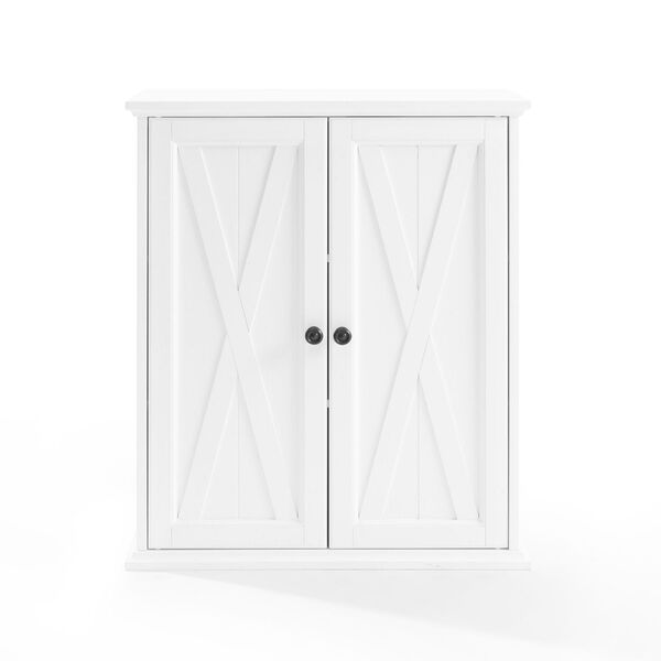 Clifton Distressed White Stackable Kitchen Pantry, image 2