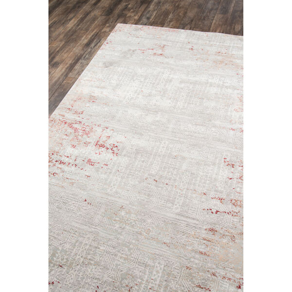 Genevieve Red Rectangular: 3 Ft. 10 In. x 5 Ft. 7 In. Rug, image 3