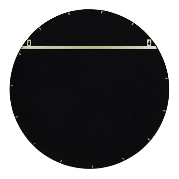 Cadet Gold Round Accent Wall Mirror, image 3