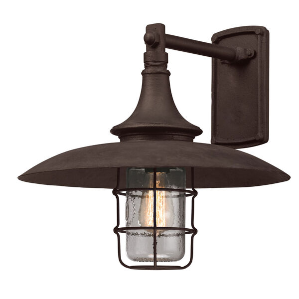 Centennial Rust Allegany Large One-Light Wall Mount, image 1