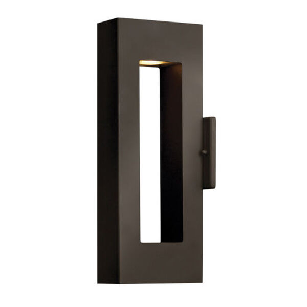 Atlantis Bronze Two-Light LED 16-Inch Outdoor Wall Mount, image 1