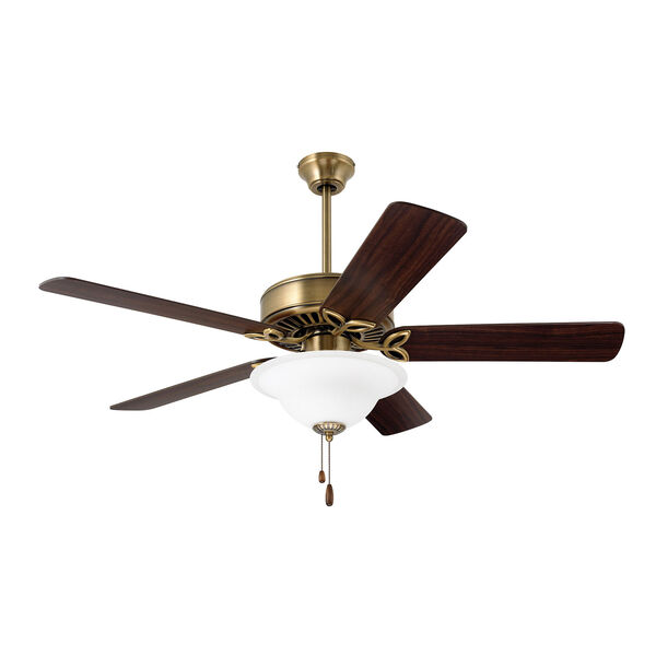 Pro Series Antique Brass 50-Inch Ceiling Fan, image 1