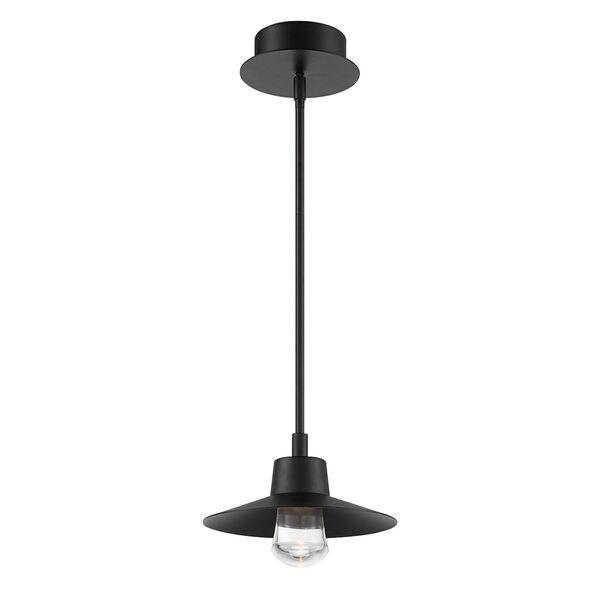 Suspense Black LED  Outdoor Pendant, image 1
