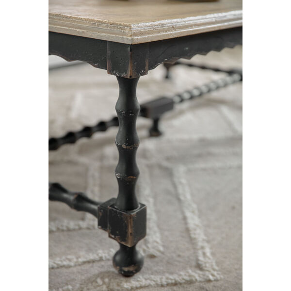 Ciao Bella Black 54-Inch Cocktail Table, image 4