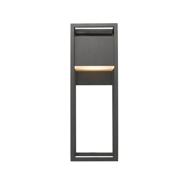 Barwick Black 7-Inch One-Light LED Outdoor Wall Sconce, image 4