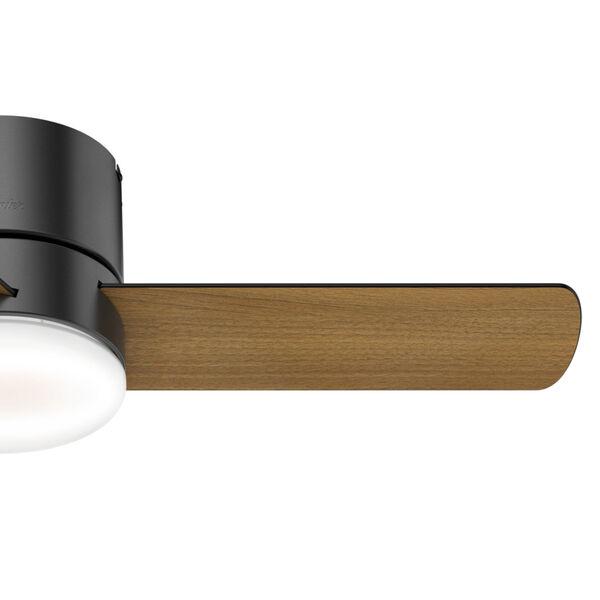 Minimus Low Profile Matte Black 44-Inch LED Ceiling Fan, image 5