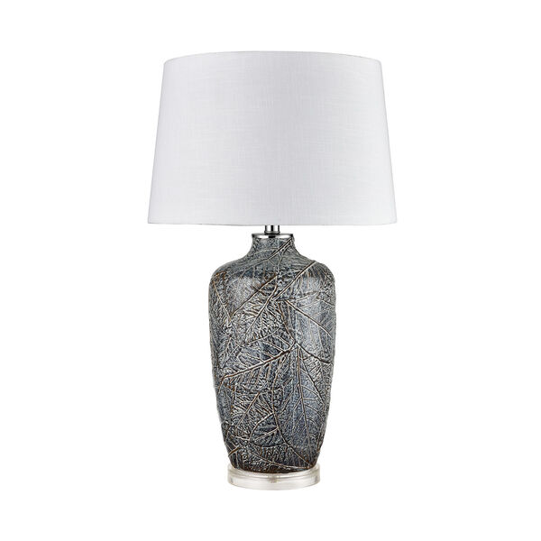 Forage Winter Grey and Clear One-Light Table Lamp, image 2