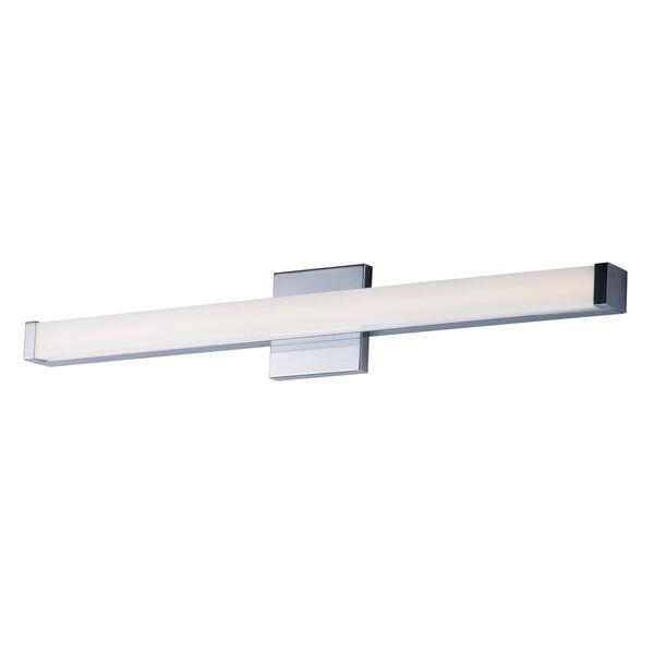 Spec Vanity Polished Chrome 30-Inch LED Bath Bar, image 1