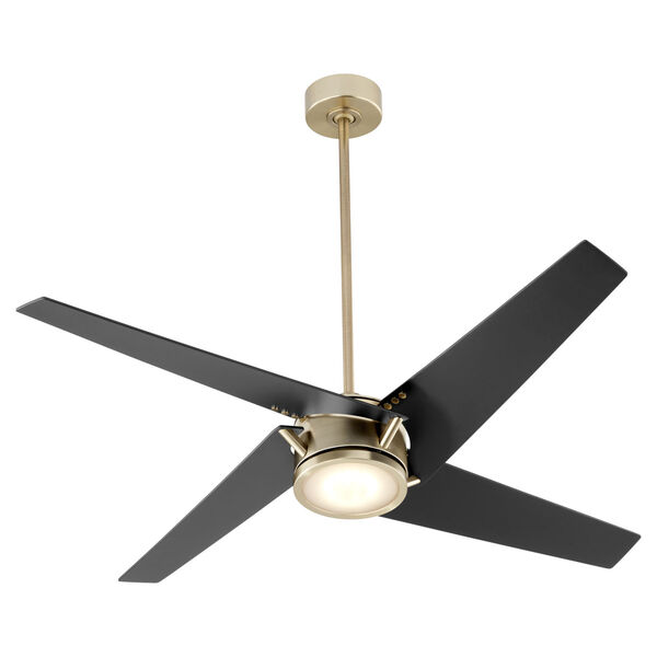 Axis Aged Brass 54-Inch LED Ceiling Fan, image 4