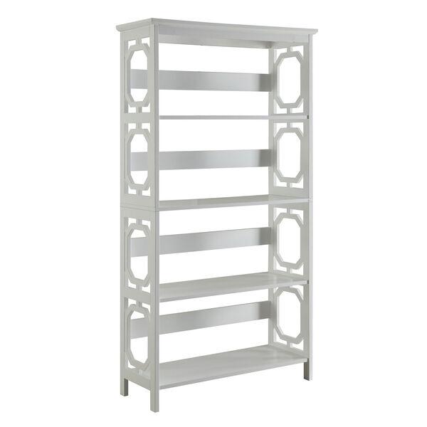Omega 5 Tier Bookcase, image 1