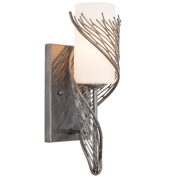 Flow Steel One Light Wall Sconce, image 2