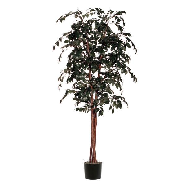 Green 6 Foot Deluxe Sakaki Tree, image 1