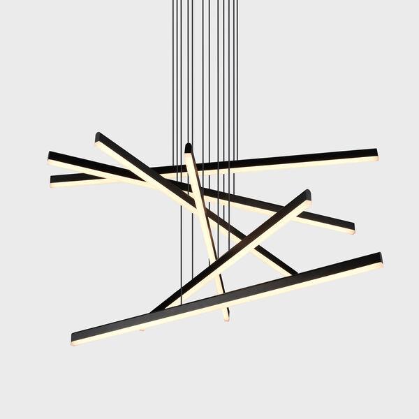 Sirius Black Six-Light LED Pendant, image 1