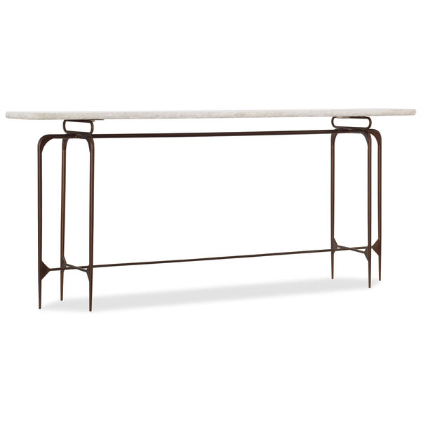 Skinny Metal Console Table, image 1