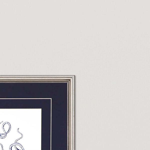 Navy Gems I Blue Framed Art, Set of Two, image 3