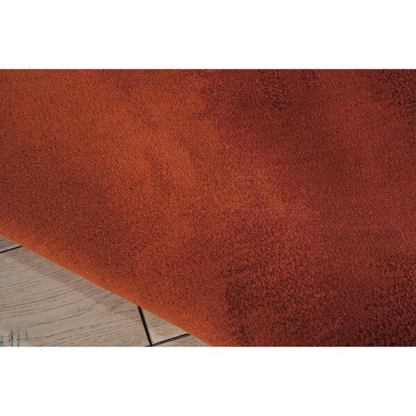 Luster Wash Russet Tones Rust Rectangular: 4 Ft. x 6 Ft. Rug, image 4